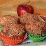 Apfel Zimt Muffins mit Streuseln