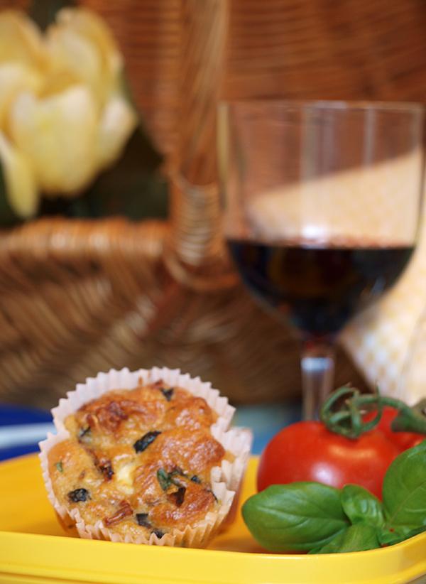 Tomate Feta Muffins